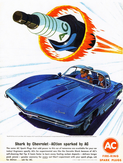 Vintage Corvette Ads From The Early 1960s