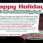 Holiday Coupon Code – Save 10%