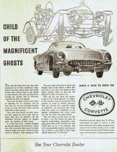 Child of the Magnificent Ghosts Ad from 1955