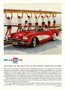 '59 Corvette Ad - Crew Members