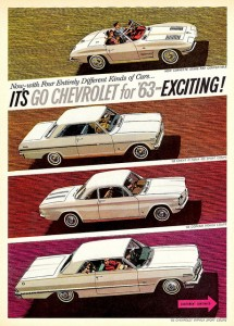 It's Go Chevrolet for '63 - Exciting!