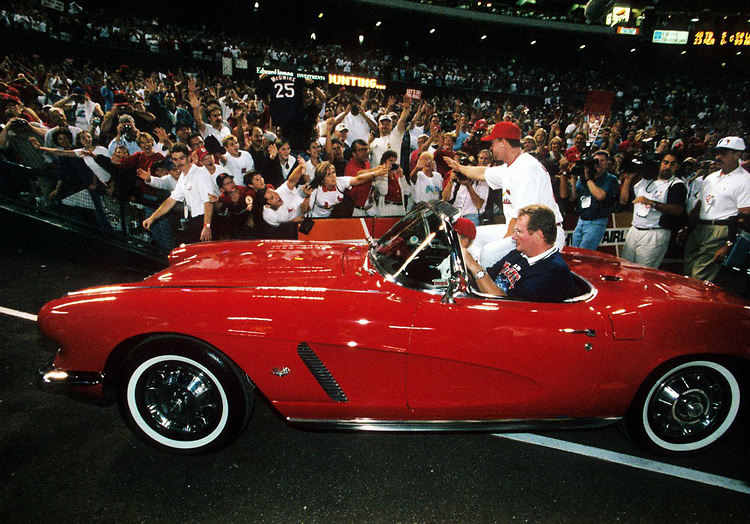 Mark McGwire's Corvette