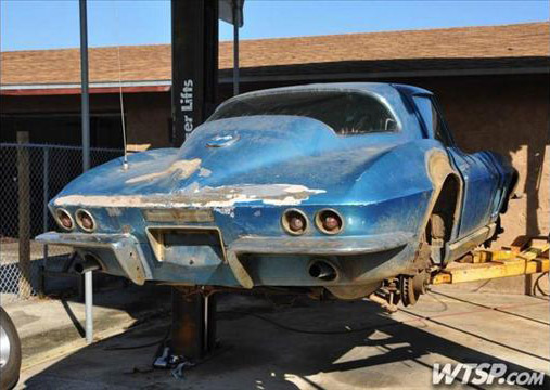 1969 Corvette Stingray >> Joe Crosby of Florida Restoring Neil Armstrong's 1967 ...