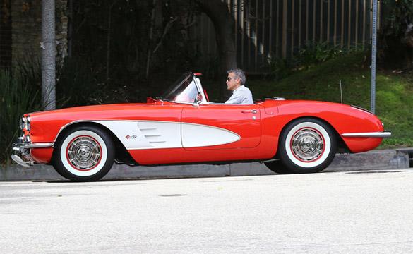 George Clooney's Corvette