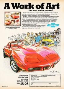 1979 Corvette Ad