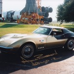 Alan Bean's Corvette Stingray