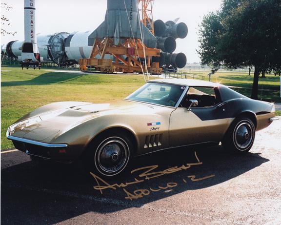 Alan Bean's Corvette Stingray