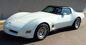 1980 California Corvette 305