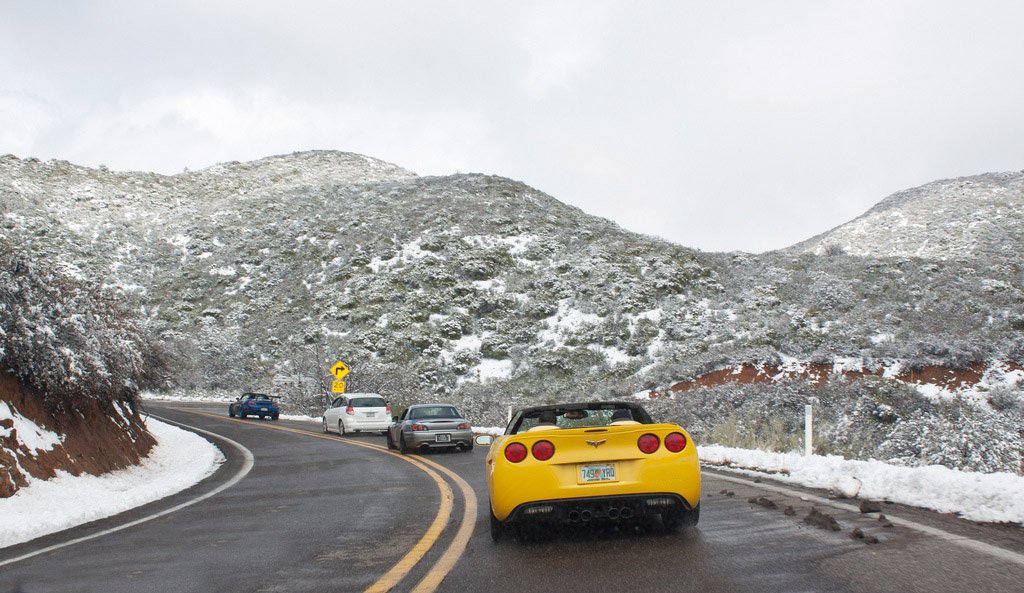 corvette winter weather