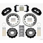 85-87 WILWOOD 6R FRONT BIG BRAKE KIT (BLACK SRP)
