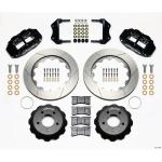 85-87 WILWOOD 6R FRONT BIG BRAKE KIT (BLACK)