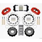 85-87 WILWOOD 6R FRONT BIG BRAKE KIT (RED SRP)