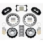 84-87 WILWOOD 6R REAR BIG BRAKE KIT (BLACK SRP)