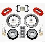 84-87 WILWOOD 6R REAR BIG BRAKE KIT (RED SRP)