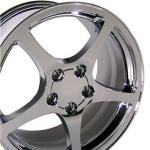 97-04 WHEEL (C5 STYLE) CHROME. 18X9.5
