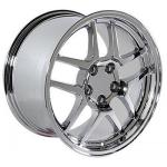 97-04 WHEEL (C5 Z06 STYLE) CHROME. 18x10.5