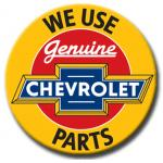 GENUINE CHEVROLET PART TIN SIGN