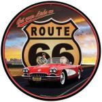 ROUTE 66 CORVETTE METAL