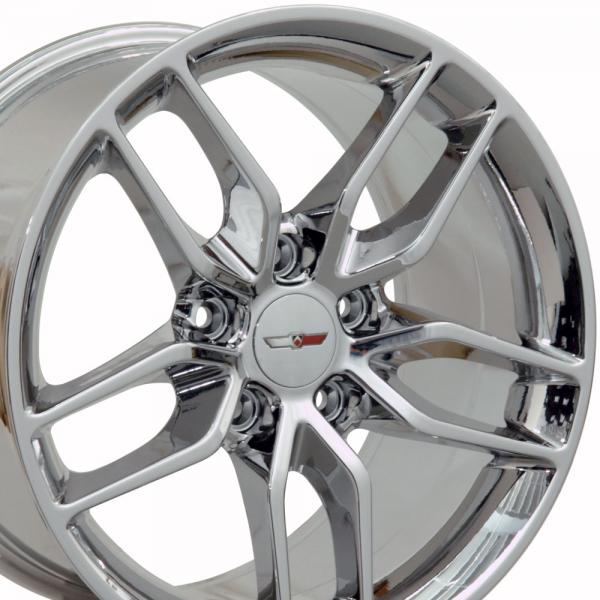 97-04 WHEEL (C7 Z51 STYLE) CHROME. 17X9.5