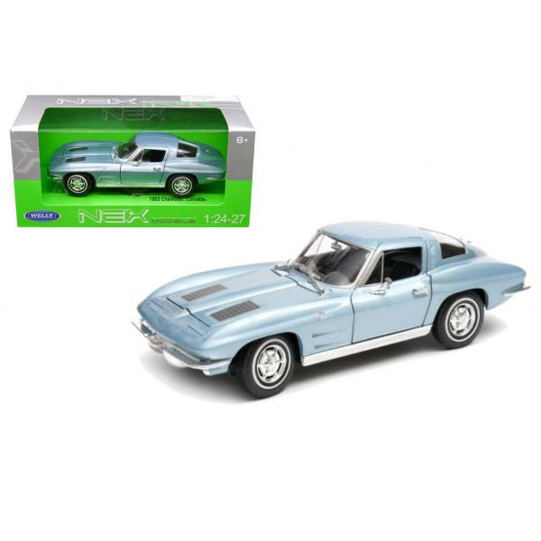 1963 CORVETTE BLUE COUPE (1/18 SCALE)