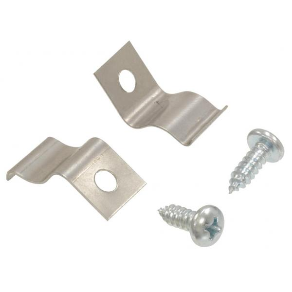 56-62 ASHTRAY RETAINER CLIPS W/SCREWS