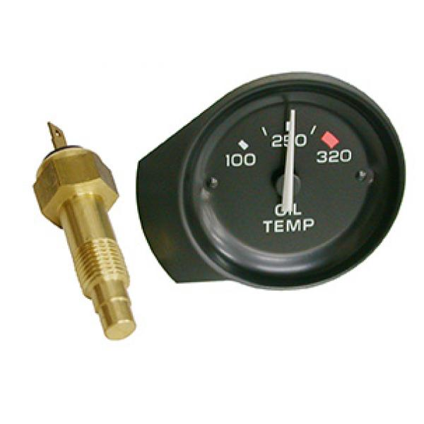 81-82 OIL TEMPERATURE GAUGE (INCLUDES SENDER)