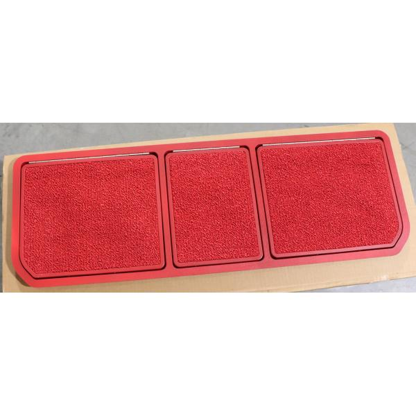 68-72 REAR COMPARTMENT DOOR ASSEMBLY (RED)