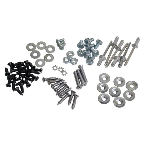 68-72 REAR COMPARTMENT STORAGE SCREW SET