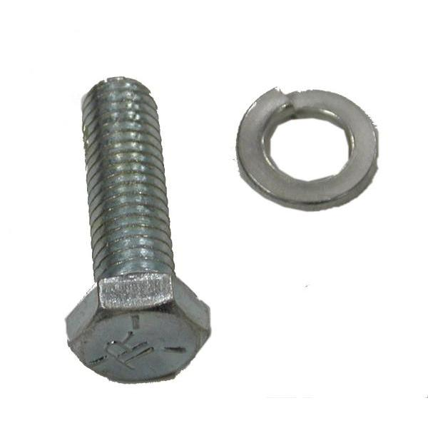 66-74 ALTERNATOR BRACE BOLT & WASHER (BB W/PS)