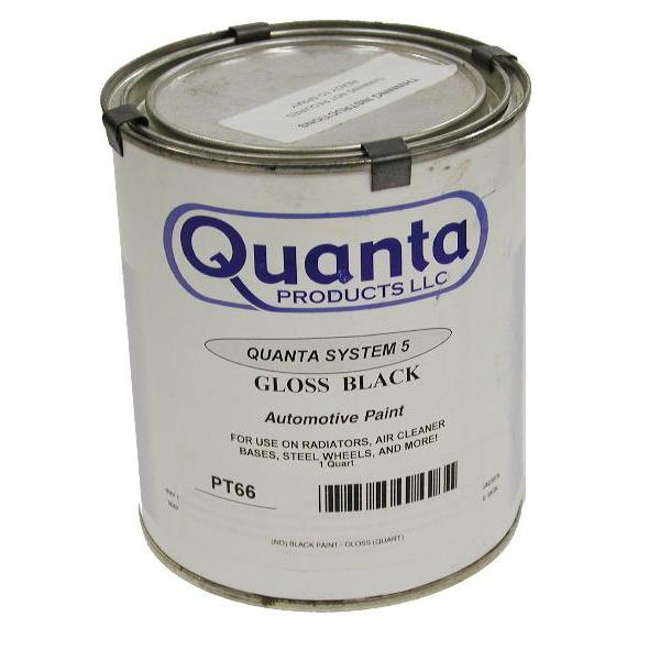 QUANTA-GLOSS BLACK PAINT **LIMITED STOCK**