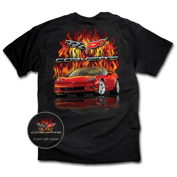 FLAMING RED C6 COUPE/Z06 (MEDIUM)