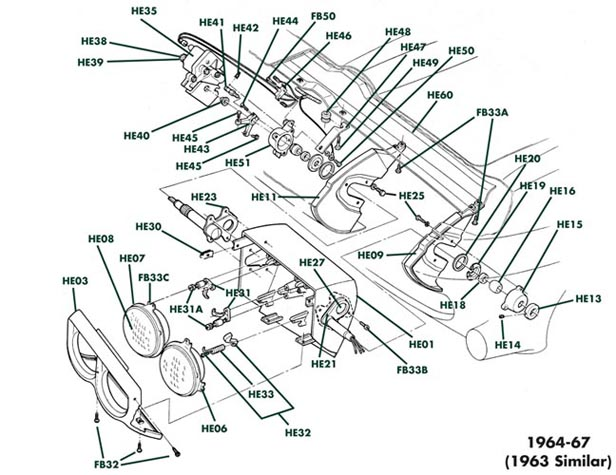 Corvette C2 Parts Diagrams Html Autos Post